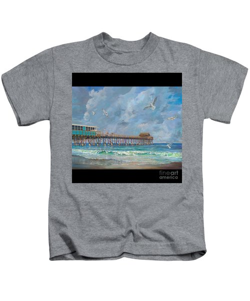 Cocoa Beach Pier Kids T-Shirt