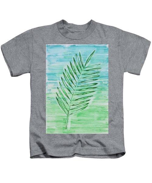 Coconut Leaf Kids T-Shirt