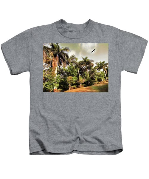 Coconut Trees Kids T-Shirt