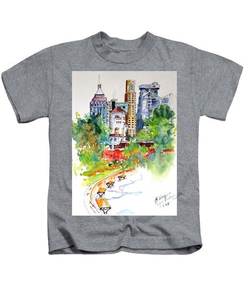 Colonial Vs The Modern In Hong Kong Kids T-Shirt