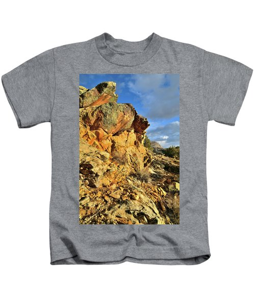 Colorful Crags In Colorado National Monument Kids T-Shirt