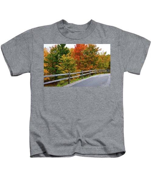 Colorful Lane Kids T-Shirt