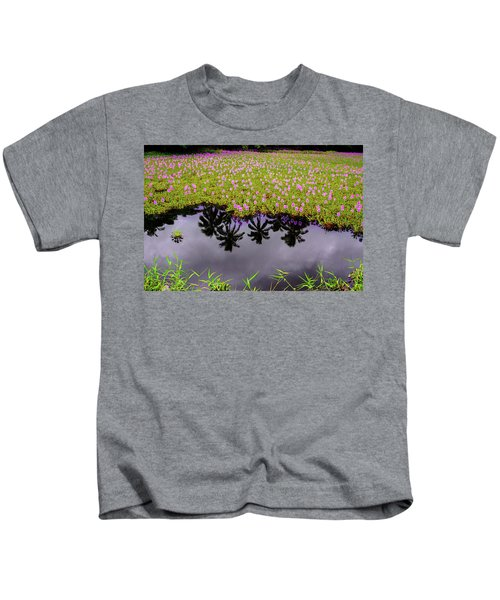 Colors On The Water Kids T-Shirt