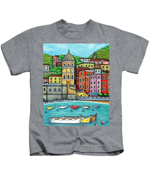 Colours Of Vernazza Kids T-Shirt