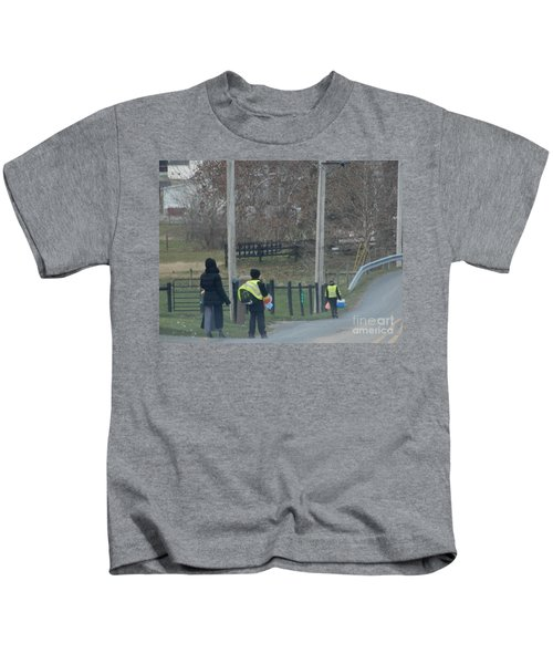 Coming Home From School Kids T-Shirt