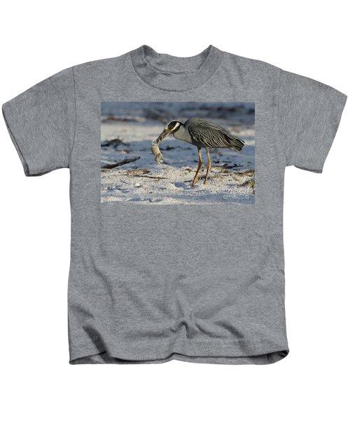Crab For Breakfast Kids T-Shirt