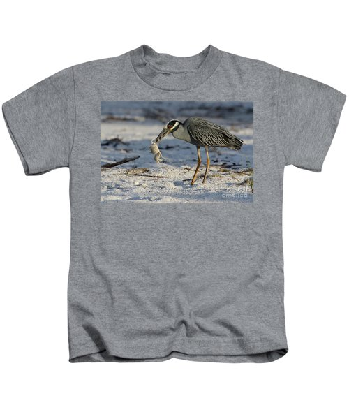 Crab For Breakfast Kids T-Shirt