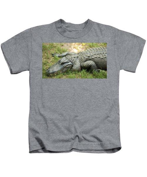 Crocodile Outside Kids T-Shirt