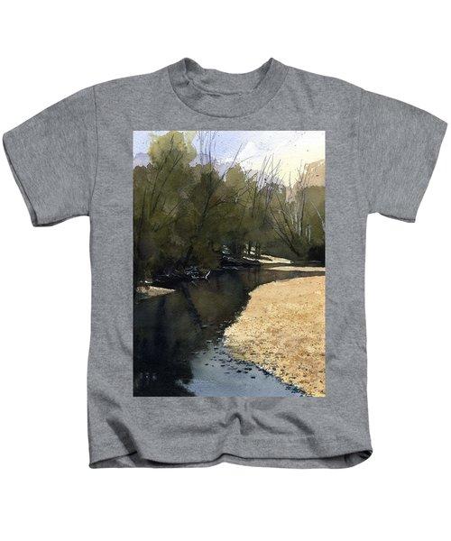 Crow Creek, Augusta, Missouri Kids T-Shirt