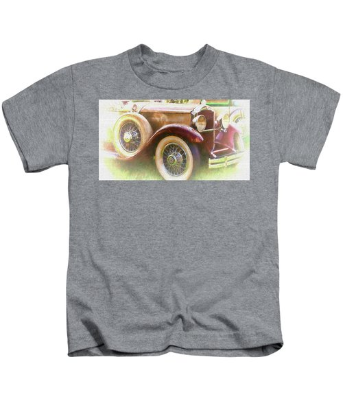Cruise Into Tomorrow With Yesterday's Wheels Kids T-Shirt