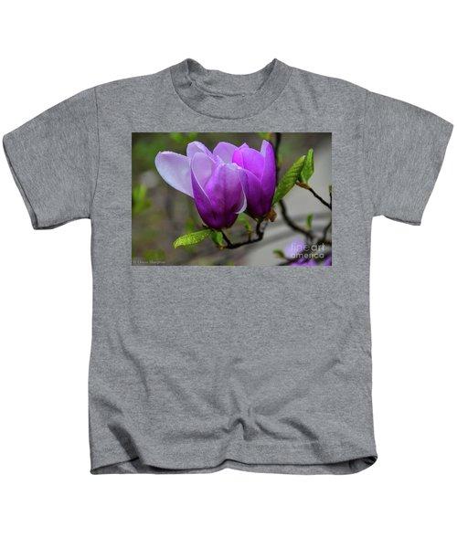 Cuddling In Spring Kids T-Shirt