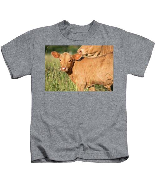 Cute Calf Kids T-Shirt