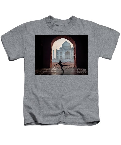 Dancer At The Taj Kids T-Shirt
