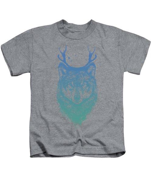 Deer Wolf Kids T-Shirt