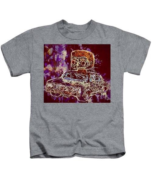 Dean Winchester Car Supernatural Pop  Kids T-Shirt