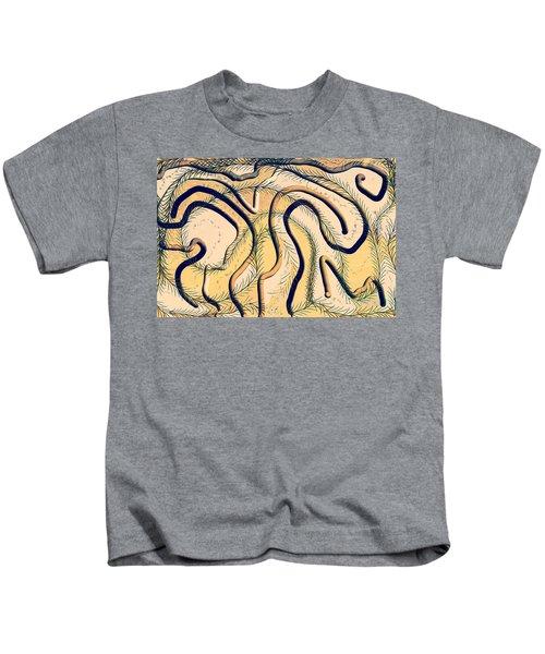 Desert Map Kids T-Shirt