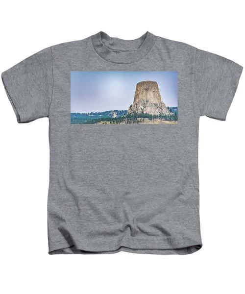 Devils Tower Kids T-Shirt
