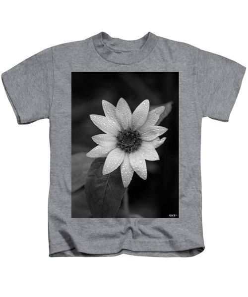 Dewdrops On A Sunflower Kids T-Shirt