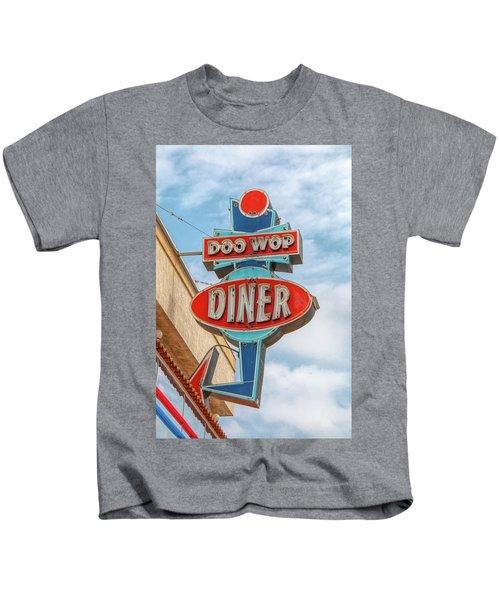 Doo Wop Diner Wildwood Kids T-Shirt
