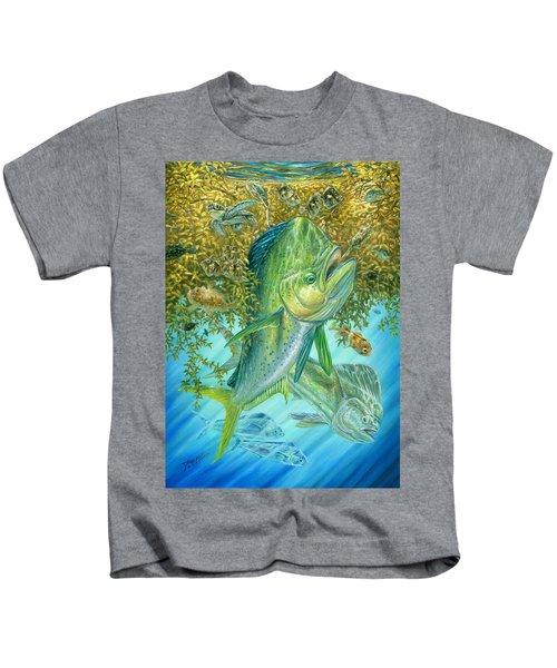 Dorados Hunting In Sargassum Kids T-Shirt