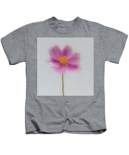 Dreamy Pink Anemone Kids T-Shirt