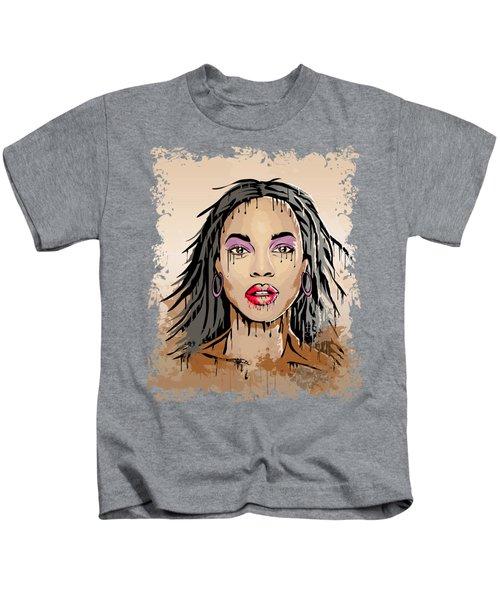 Dripping Face Kids T-Shirt