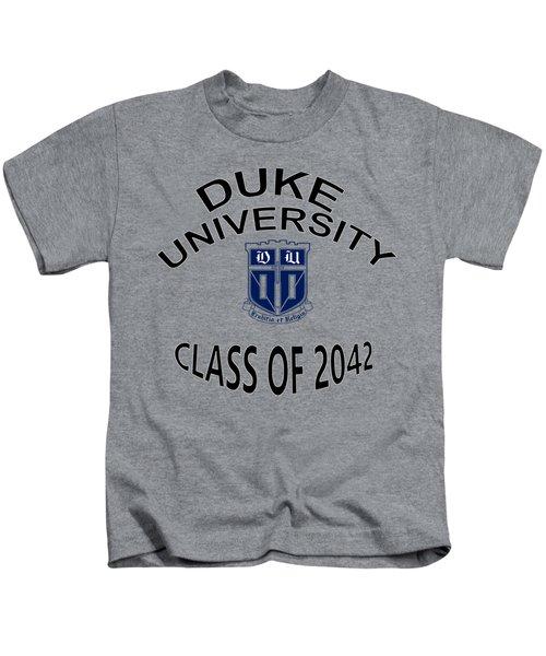Duke University Class Of 2042 Kids T-Shirt