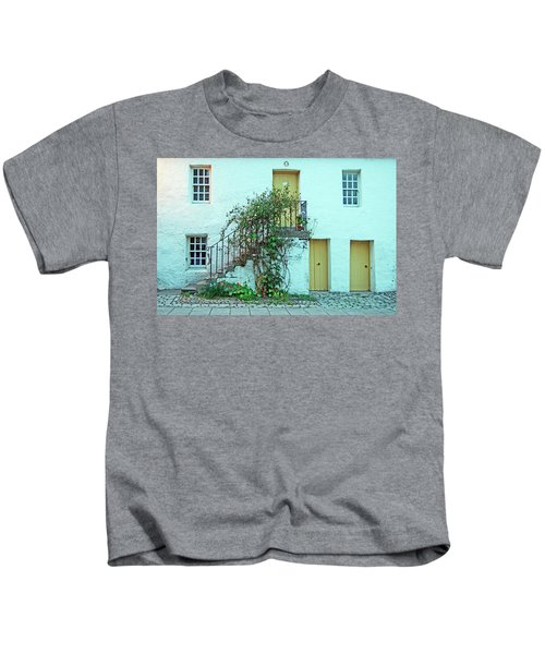 Dunkeld. The Cathedral Square. Kids T-Shirt