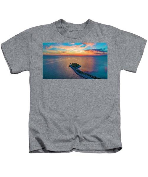 Dusk At The Knob Kids T-Shirt