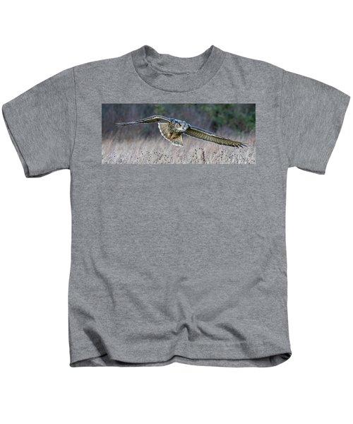 Eagle Owl Gliding Kids T-Shirt