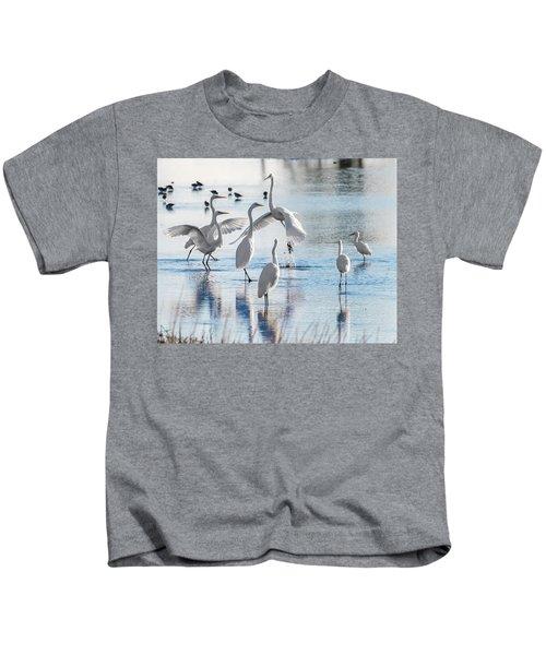 Egret Ballet 1400 Kids T-Shirt