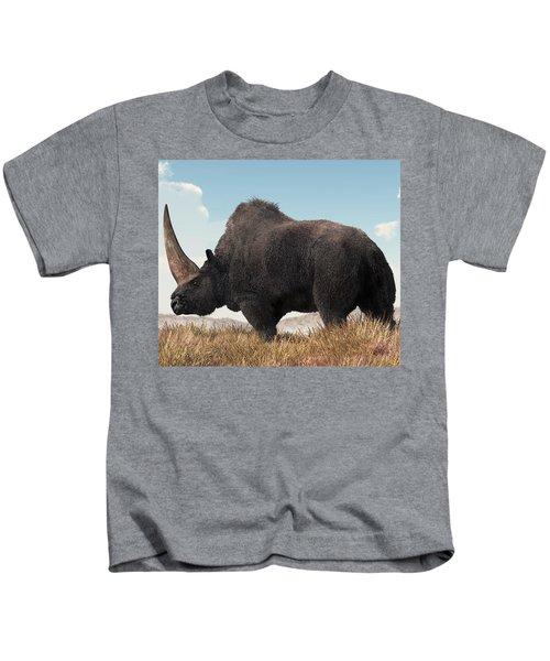 Elasmotherium Kids T-Shirt