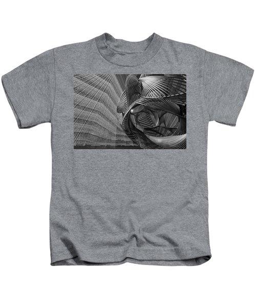Escher's Summer Cottage Kids T-Shirt