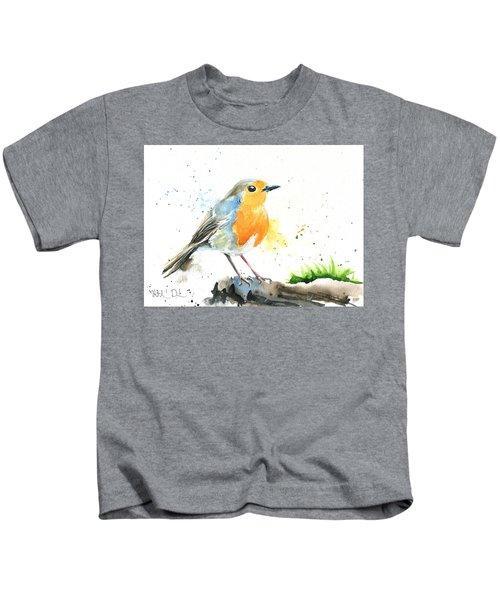 European Robin Kids T-Shirt