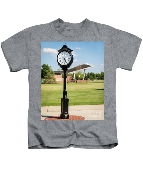 Evans Towne Center Park Clock - Columbia County Ga Kids T-Shirt
