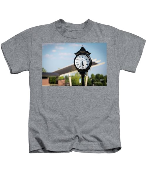 Evans Towne Center Park Clock - Evans Ga Kids T-Shirt