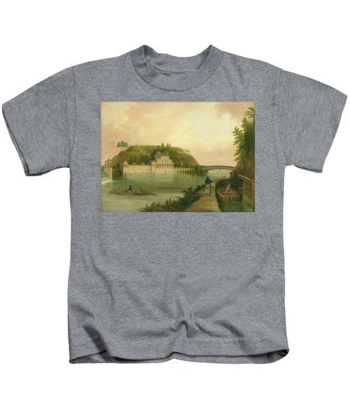 Fairmount Waterworks About 1838 Kids T-Shirt
