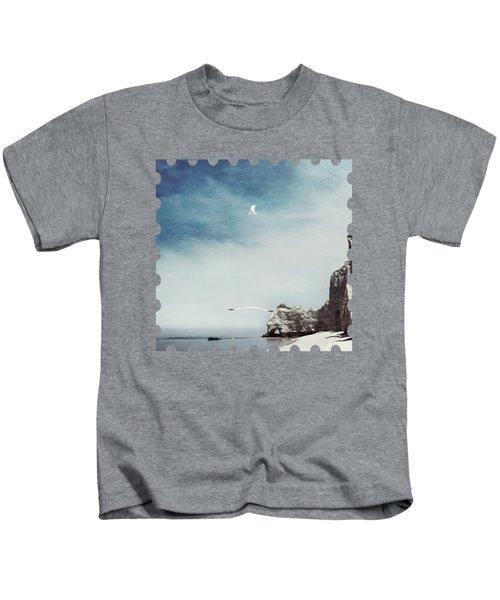 Falaise D'amont - Etretat - France Kids T-Shirt