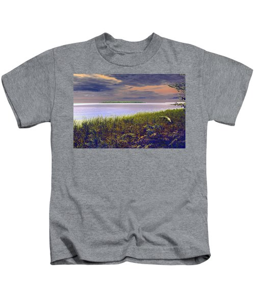 Fall Approaching  Au Train Island Kids T-Shirt