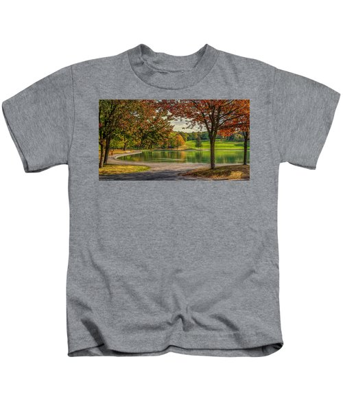 Fall In Montreal Kids T-Shirt