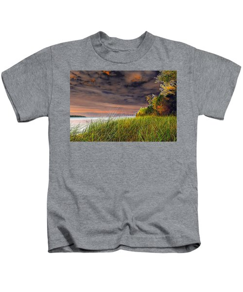 Fall On Lake Superior Kids T-Shirt