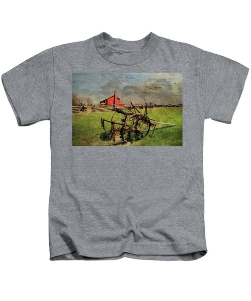 Farming In The 1880s Kids T-Shirt