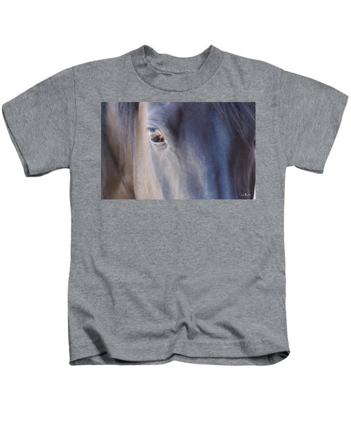 Fenced Foal Kids T-Shirt