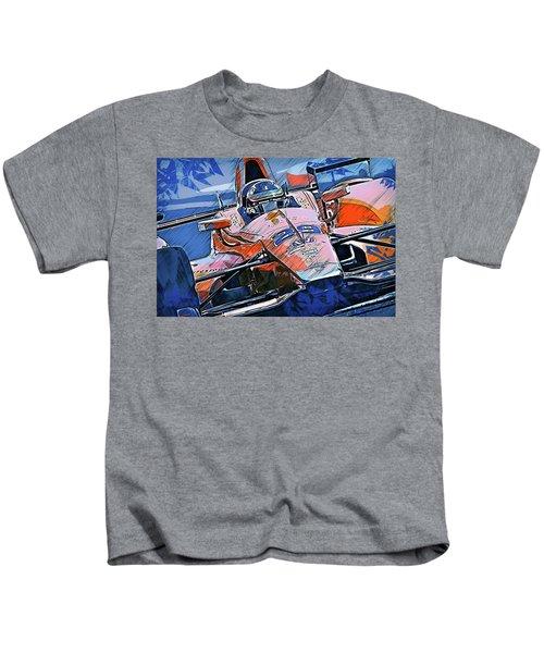 Fernando Alonso, Indy 500 - 01 Kids T-Shirt