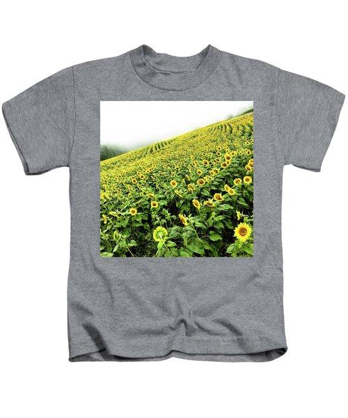 Fields Of Yellow Kids T-Shirt