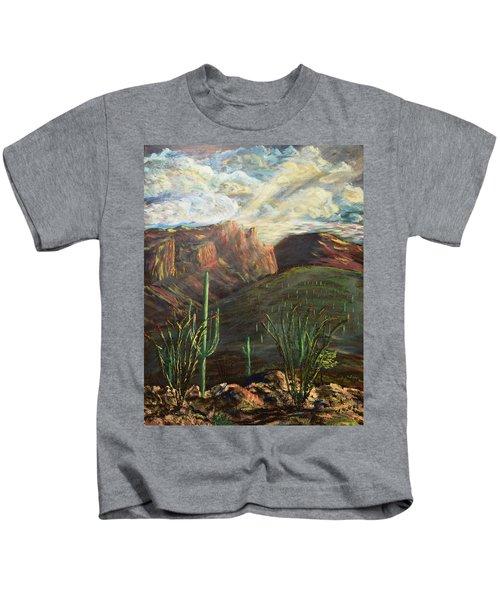 Finger Rock Morning Kids T-Shirt