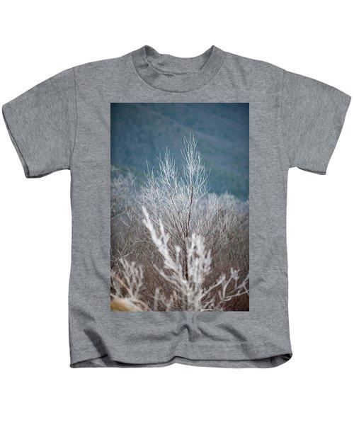 Fingers Of Hoarfrost Kids T-Shirt
