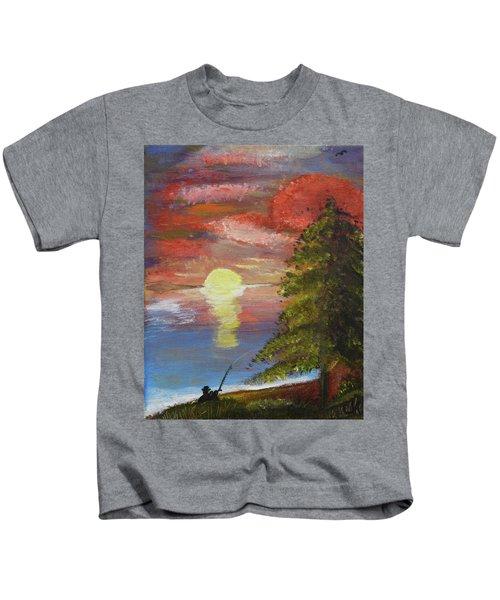 Fisherman's Paradise Kids T-Shirt