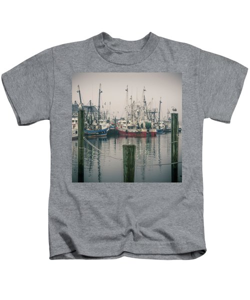 Fishing Boats Kids T-Shirt