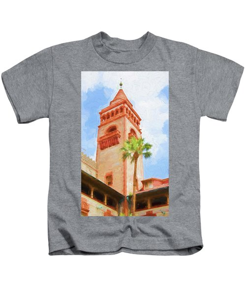 Flagler College Tower Kids T-Shirt